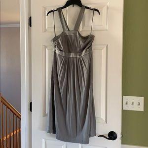 Banana Republic Silk Cross Strap Dress, Size 10